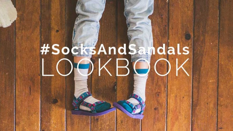Illustration for article titled The Monsters at Teva Are Encouraging You to Wear Socks With Sandals