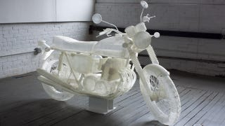 Illustration for article titled How To 3D-Print A 1972 Honda CB500 In A Billion Easy Steps