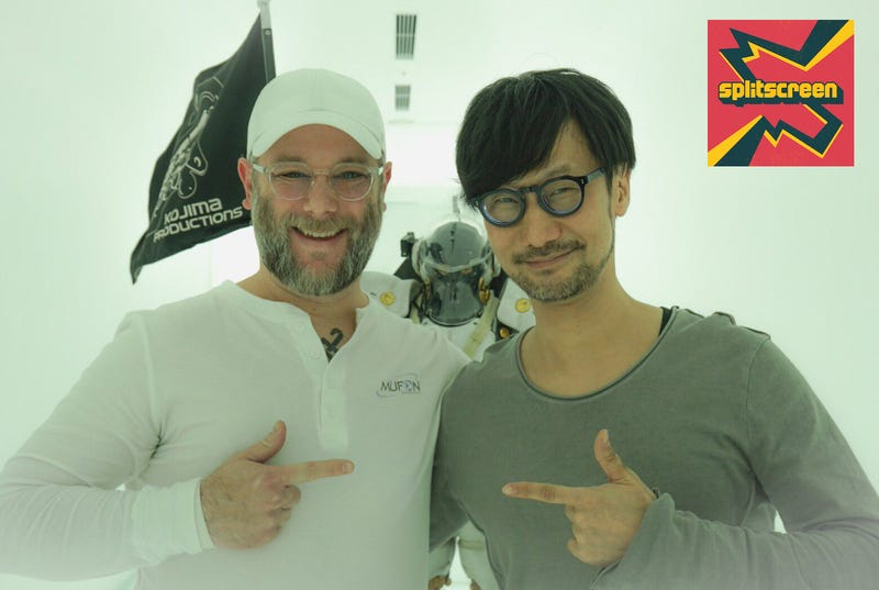 Cory Barlog and Hideo Kojima meet at Kojima Productions' office in December 2018.