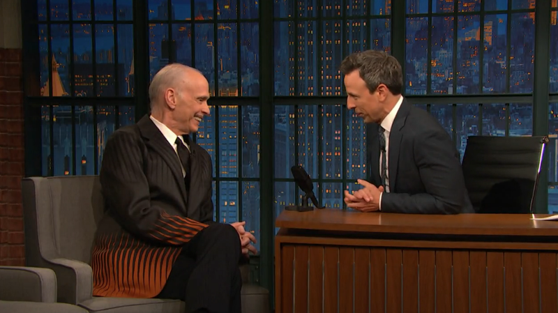 John Waters, Seth Meyers