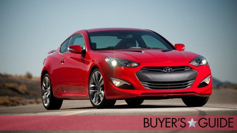 Hyundai Genesis Coupe Jalopnik Buyers Guide - Sports car price