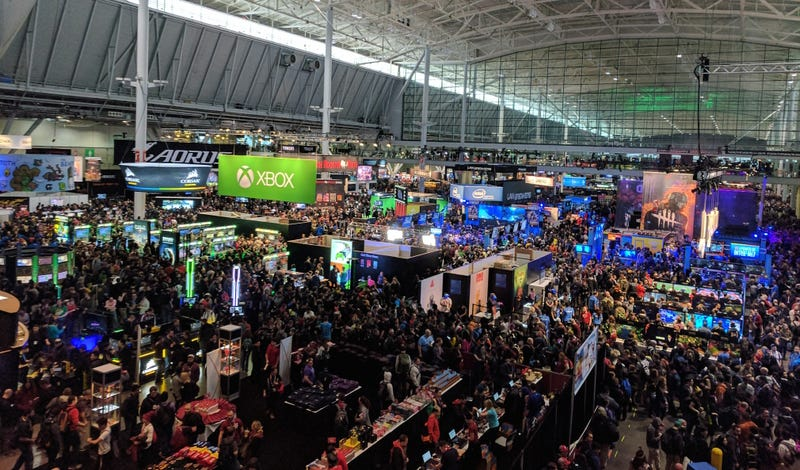 So much for Friday being the slow day at PAX East!