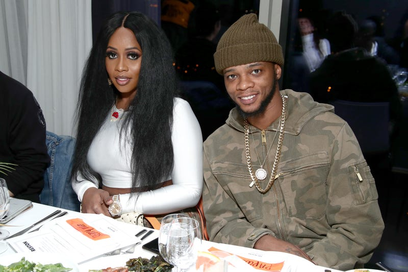 NEW YORK, NY - FEBRUARY 13: Recording artist Remy Ma and Papoose Mackie attend the Heron Preston + Tequila Avion Dance Party in Celebration Of Heron Preston 'Public Figure' at Public Arts on February 13, 2018 in New York City.