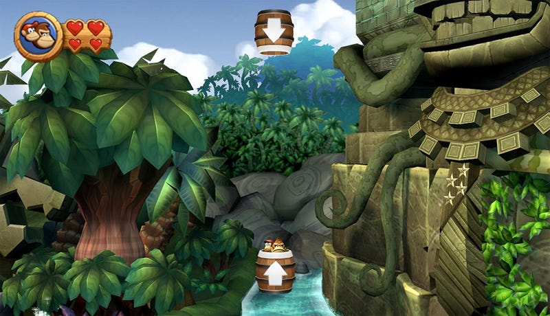 Illustration for article titled The King Of Donkey Kong Country Returns References