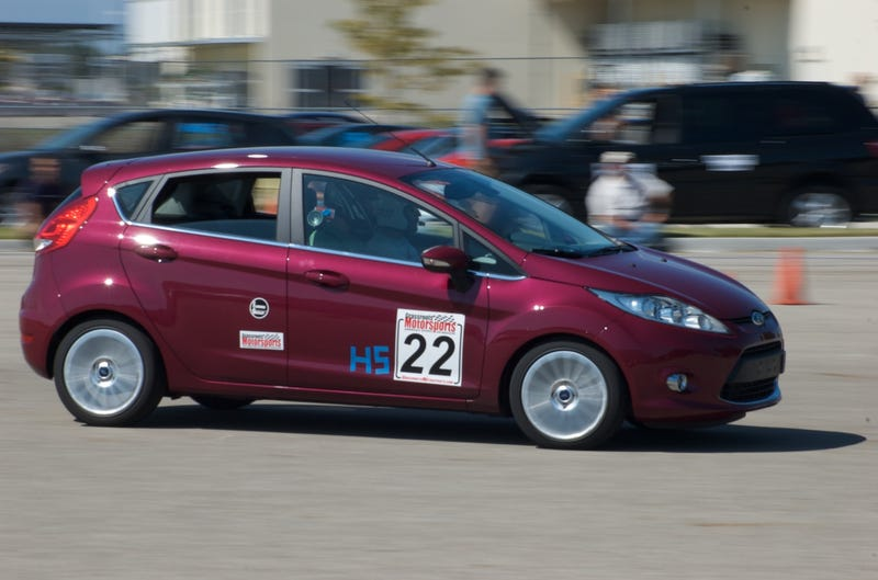 Illustration for article titled Stock Ford Fiesta (non-ST) banned from SCCA Autocross