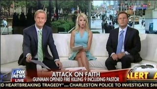 Illustration for article titled Fox News and Lindsey Graham Lament Hate Crime Against Christians