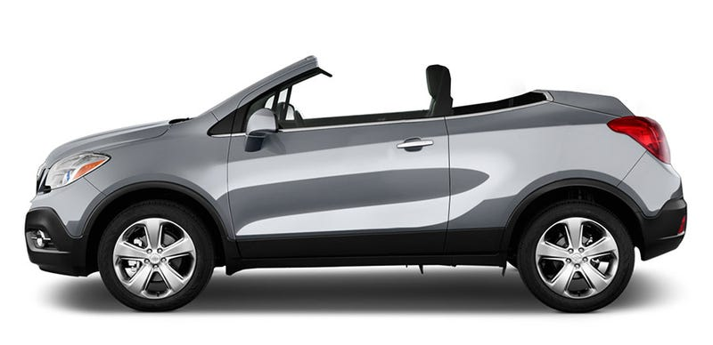 Illustration for article titled 2015 Buick Encore CrossCabriolet.
