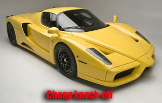 Illustration for article titled Edo Competition Tuned Ferrari Enzo Is No Fierrari Enzno