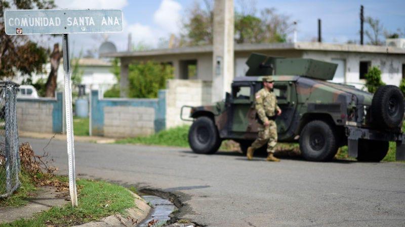 Guayama, Puerto Rico, una semana después del impacto del huracán María. (Foto: AP Images)