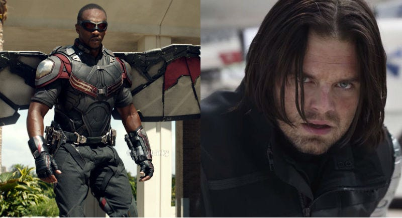 The characters as they appear in Captain America: Civil War.