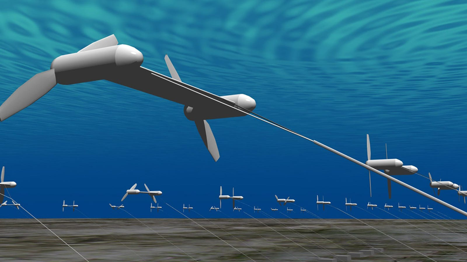 Japón probará estas turbinas submarinas para generar energía en 2015