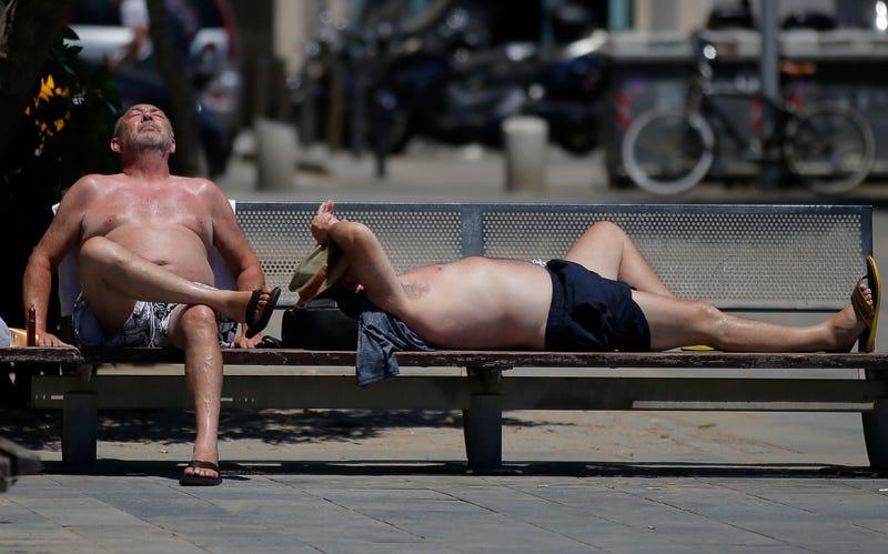 Calor en Verano. AP
