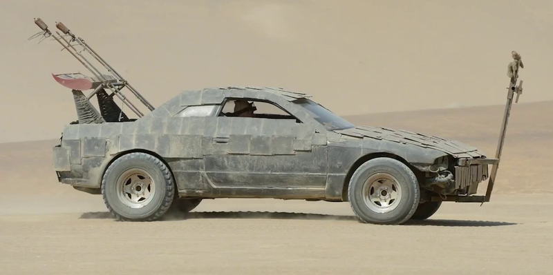 Illustration for article titled TIL there was a Nissan Skyline R32 in Mad Max: Fury Road