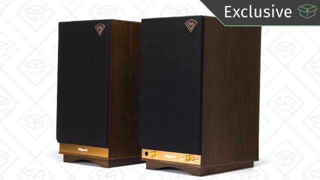 These Booming Klipsch Monitors Have Bluetooth Built Right In