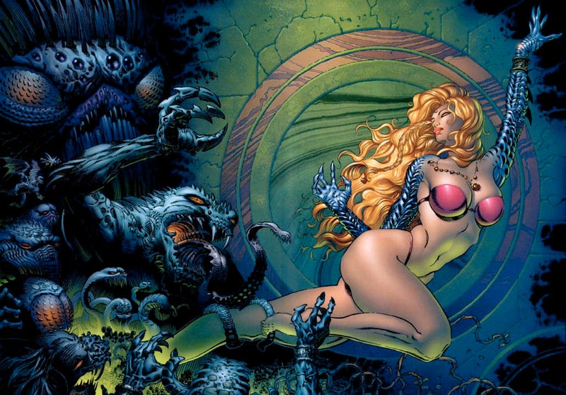 Illustration for article titled Comics Artist Uses DMCA To Silence Critics Of His Contortionist Ladies
