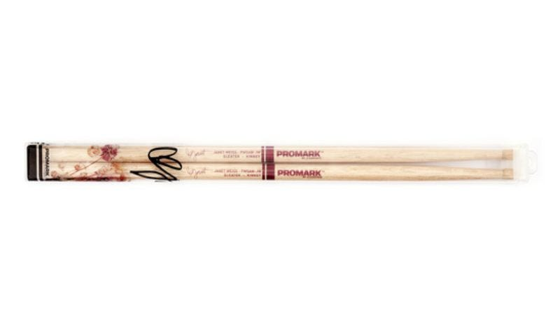 Illustration for article titled Sleater-Kinney has limited edition Janet Weiss drumsticks for sale, plus weird bonus