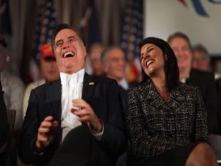 GOP presidential hopeful Mitt Romney (Joe Raedle/Getty Images)