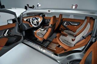 Illustration for article titled GMC Granite: Detroit Auto Show Interior Live Photos