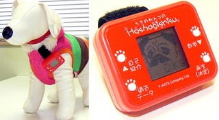 Illustration for article titled Takara Tomy's Doggy Pedometer Encourages Your Pets Not To Be As Lazy As You