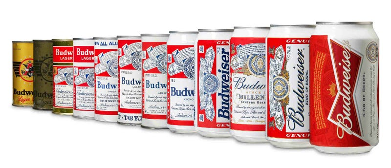 Illustration for article titled Budweiser Can Sports New Look