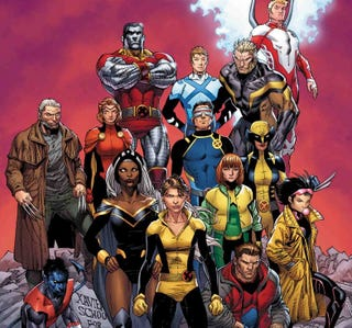 The cover to X-Men Prime.