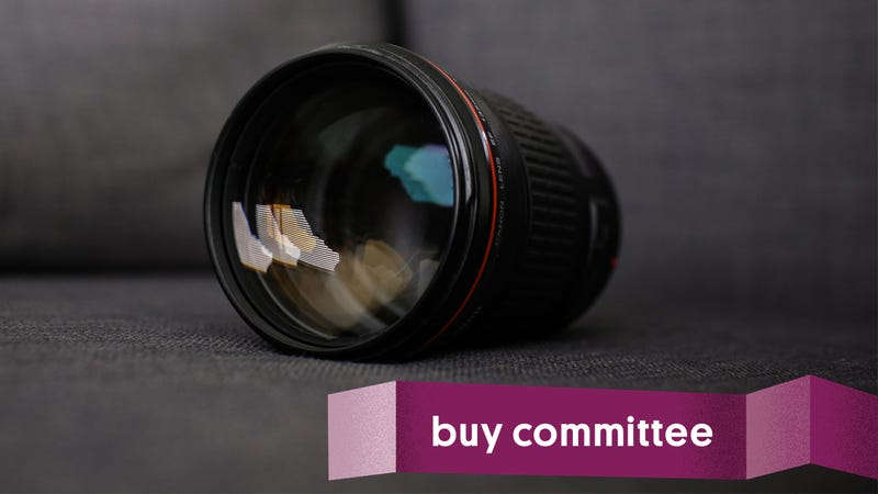 Illustration for article titled Buy Committee: Should I Upgrade My Portrait Lens?