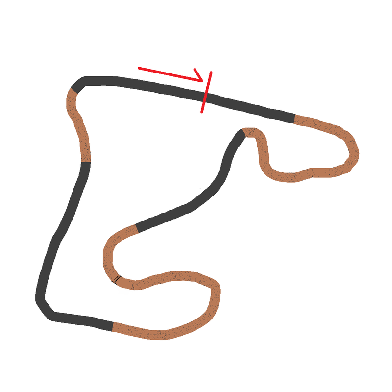 Illustration for article titled so I guess this is a rallycross course or something I dunno.