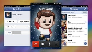 Illustration for article titled Facebook Messenger Makes Free Calls to Any Facebook Friend on Your iPhone