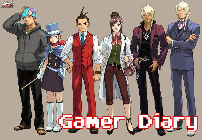 Illustration for article titled Gamer Diary: Apollo Justice: Ace Attorney
