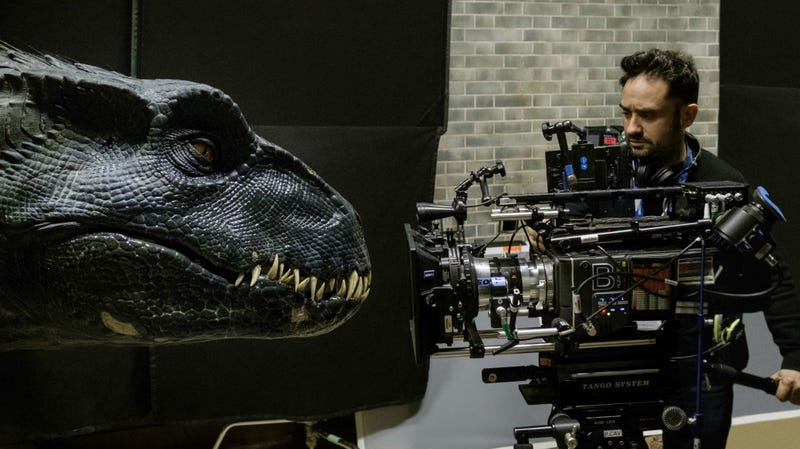 Director J.A. Bayona gets up close and personal with Jurassic World: Fallen Kingdom.