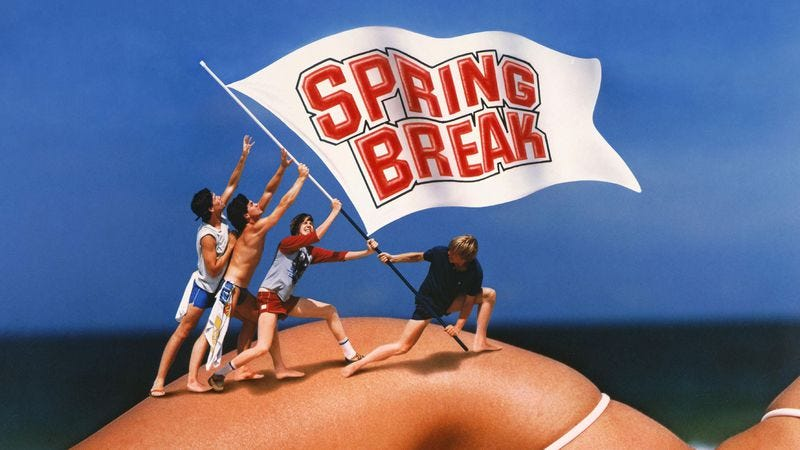 Illustration for article titled Want to do spring break properly? These movies have some advice