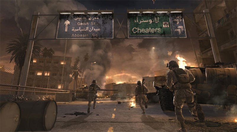 "Illustration for article titled Infinity Ward To ""Eliminate"" Cheaters In Call Of Duty 4"