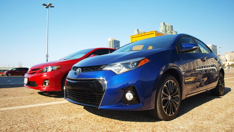 The All New 2014 Toyota Corolla Is By No Means All New. Itu0027s An Updated  Version Of A Car Thatu0027s Already Eight Years Old, With Stone Age Suspension  Design, ...