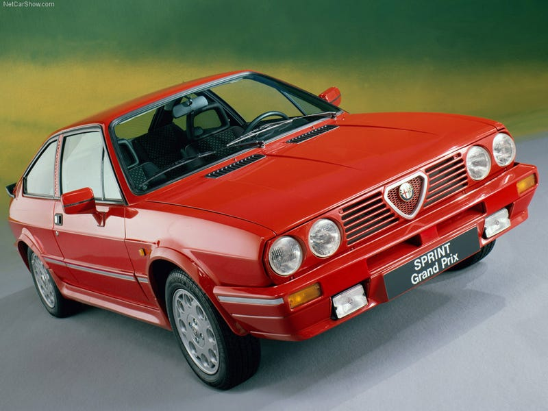 1983 Alfasud Sprint Grand Prix, because even 80s Alfas need love.