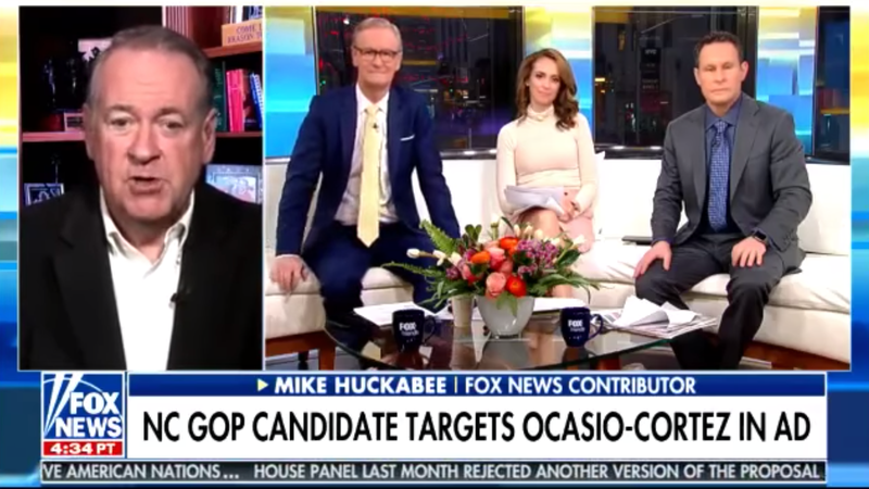 Mike Huckabee Wants to Tell You Something About Alexandria Ocasio-Cortez
