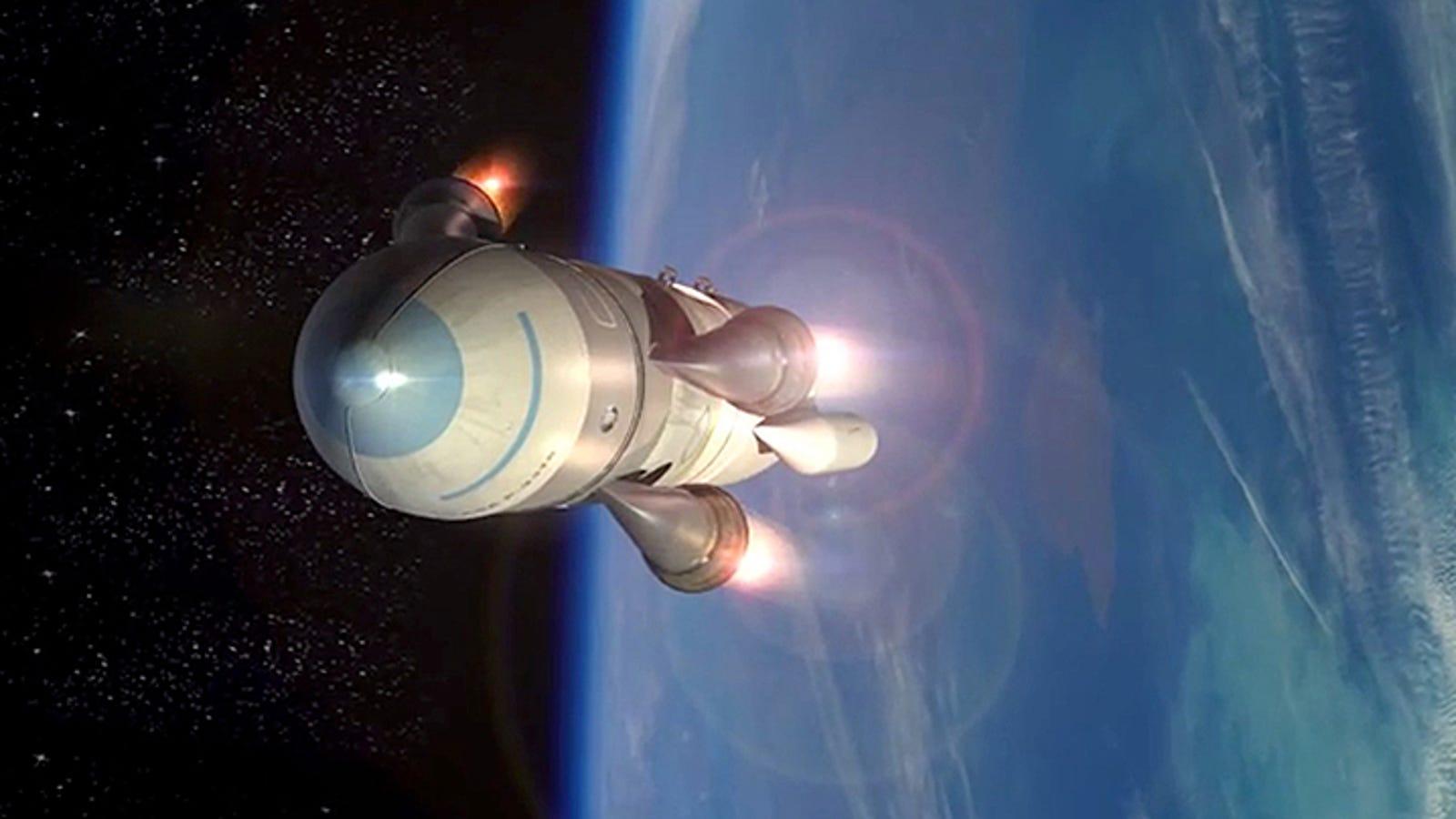 La DARPA planea poner satélites en órbita desde cazas de combate