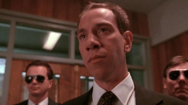 Illustration for article titled Miguel Ferrer's Albert Rosenfield Will Always Be the Best Twin Peaks Character
