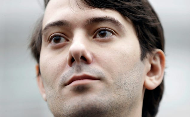 IRS: Martin Shkreli Owes $4.5 Million in Unpaid Taxes