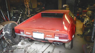 Illustration for article titled Could This Barn-Find DeTomaso Pantera Be Worth $100,000+ After Cleaning?