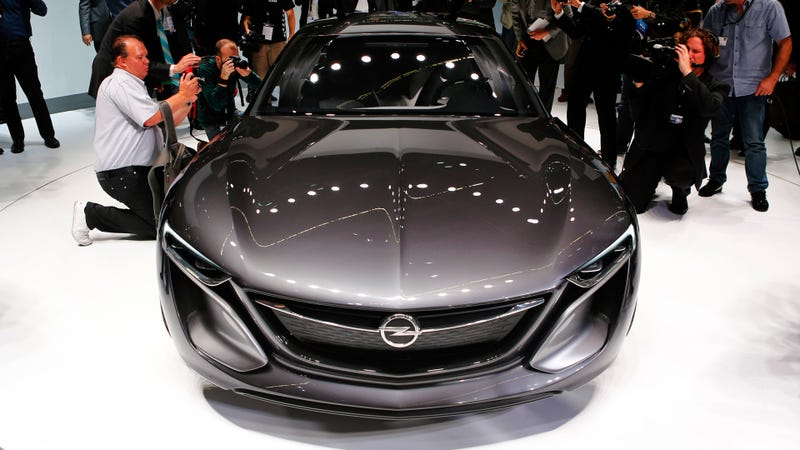 The Opel Monza Concept Is The Perfect Family Sedan No One Will Build