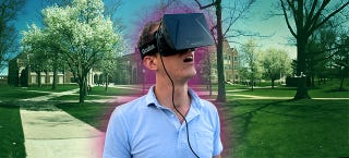 Illustration for article titled An Oculus-Powered Tour of Yale Made Me Want to Go Back to School