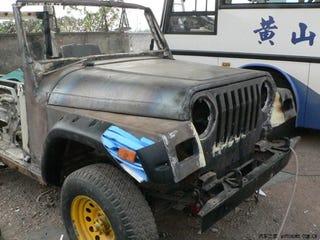 Illustration for article titled Beijing Jeep! Wrangler Jeep!