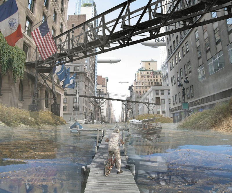 Illustration for article titled Post-Apocalypse NYC Gallery