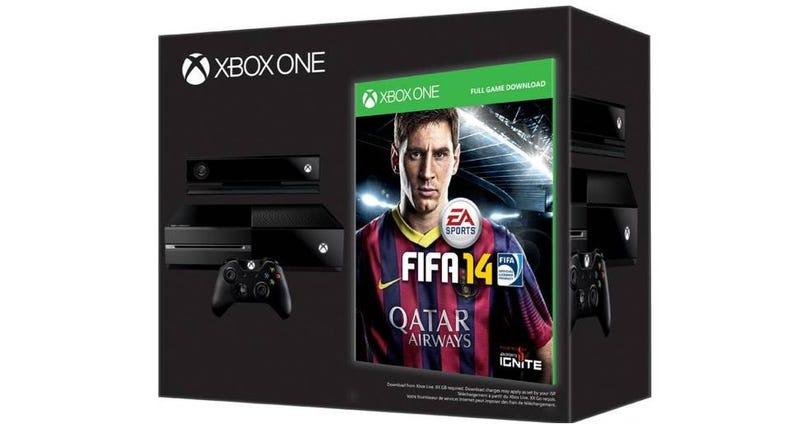 Illustration for article titled ¿Recuerdas la oferta de Xbox One + Fifa 14 gratis? Tiene truco
