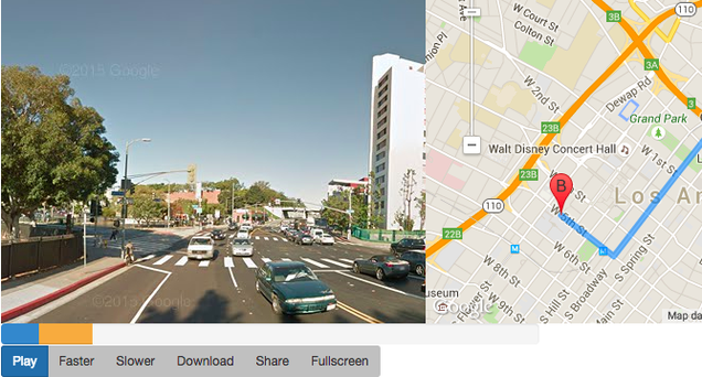 Watch a Google Street View Video of Your Map Route – Map Your Travel Route