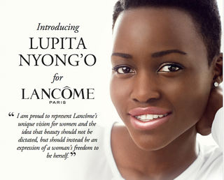 Illustration for article titled Lupita Nyong'o's First Ad For Lancome Is Obviously Stunning