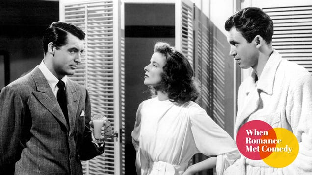 The Philadelphia Story delivered one of the most star-studded love triangles ever