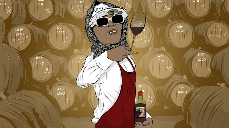 Illustration for article titled Kool Keith's Relaxing Guide To Wine