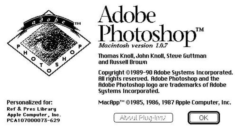 Illustration for article titled El código del primer Photoshop, liberado