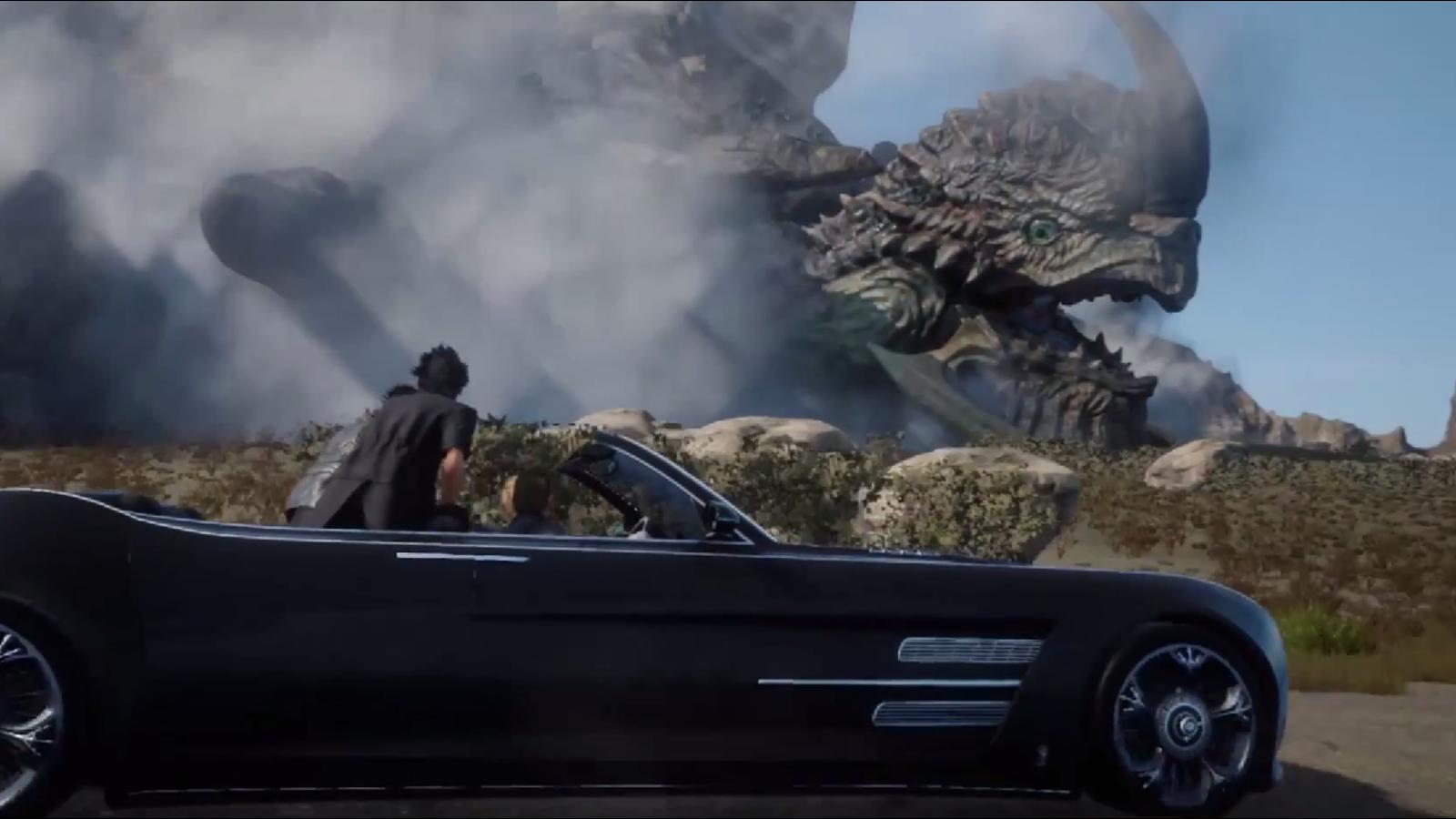 Nuevo tráiler de Final Fantasy XV: merece la pena esperar